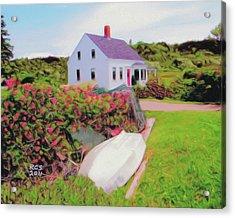 Monhegan Cottage Acrylic Print
