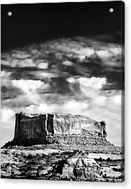 Monitor Butte Acrylic Print