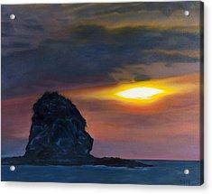 Monkey Head Island Acrylic Print by Pamela Bell