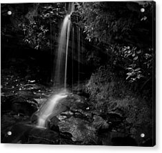 Monochrome Splash Acrylic Print by Christine Annas