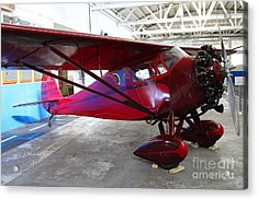 Monocoupe 110 . 7d11144 Acrylic Print by Wingsdomain Art and Photography