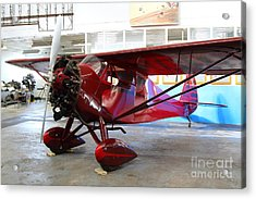 Monocoupe 110 . 7d11149 Acrylic Print by Wingsdomain Art and Photography