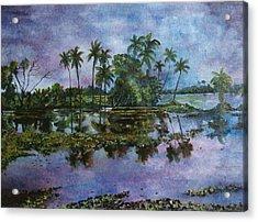 Monsoon Glory-ii Acrylic Print by Manjula Prabhakaran Dubey