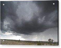 Monsoon Storm Clouds Acrylic Print by David Edwards