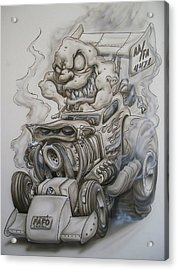Monster Rod Acrylic Print by Mike Royal