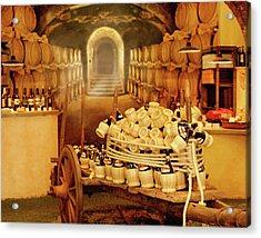 Montalcino Wine Shop Acrylic Print