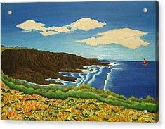 Montana De Oro Acrylic Print