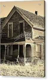 Montana Last Breath Acrylic Print by William Kelvie