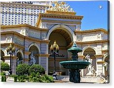 Monte Carlo Casino Resort Acrylic Print by Mariola Bitner