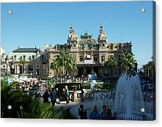 Monte Carlo Acrylic Print by Ralph Jones