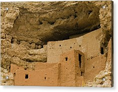 Acrylic Print featuring the photograph Montezuma's Castle by Tom Singleton