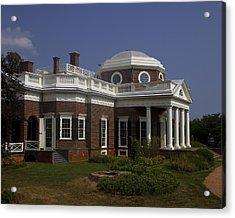 Monticello Acrylic Print by Andrew Soundarajan