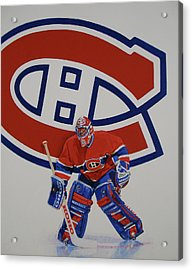 Acrylic Print featuring the painting Montreal by Cliff Spohn