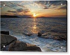 Monument Cove Sunrise Acrylic Print