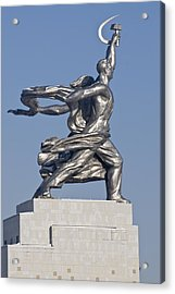 Monument Acrylic Print by Igor Sinitsyn