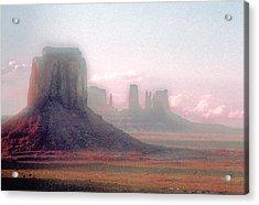 Monument Valley, Arizona, Usa Acrylic Print by Stefano Salvetti