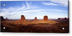 Monument Valley Panorama Acrylic Print