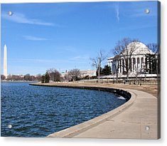 Monumental View Acrylic Print by
