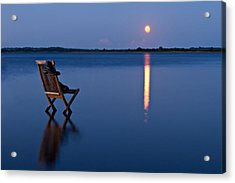 Acrylic Print featuring the photograph Moon Boots by Gert Lavsen