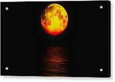 Moon Glow Acrylic Print