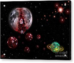 Moon In Labour Acrylic Print
