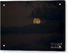 Moon Rising 04 Acrylic Print by Thomas Woolworth
