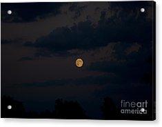 Moon Rising 06 Acrylic Print by Thomas Woolworth
