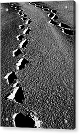 Moon Walk Acrylic Print by Jerry Cordeiro