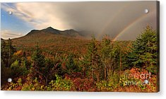 Moonbow Over The Kancamagus Acrylic Print