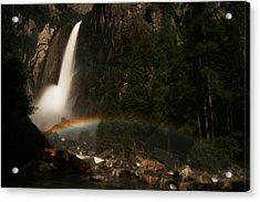 Moonbow Yosemite Falls Yosemite National Park Acrylic Print