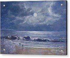 Moonglow Acrylic Print by Joan Cornish Willies