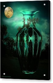 Moonglow Acrylic Print by Joyce Dickens