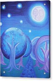 Moonlight Acrylic Print by Nichole Williamson