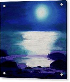 Moonlight Sonata Acrylic Print by Diana Tripp