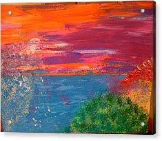 Moonlight Sonata Acrylic Print by Judi Goodwin