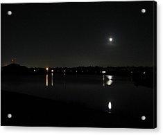 Moonlight Tears Acrylic Print by Bill Lucas