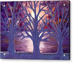 Moonlight Whispers Acrylic Print by Jessilyn Park