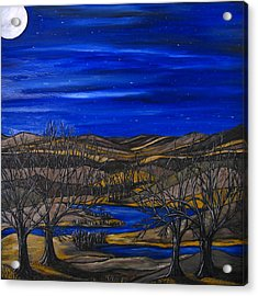 Moonlit Night Acrylic Print