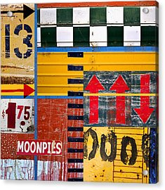 Moonpies Number 2 Acrylic Print