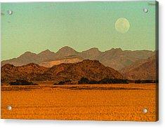 Moonrise Moment Acrylic Print