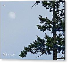 Moonrise Vigil Acrylic Print