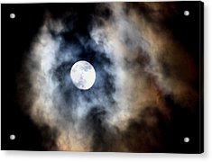 Moonshine Acrylic Print by Karen Scovill