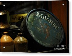 Moore's Tavern After Closing Acrylic Print by Mary Machare