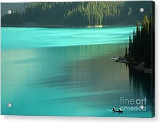 Acrylic Print featuring the photograph Moraine by Milena Boeva