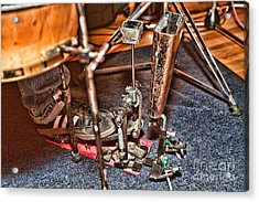 Acrylic Print featuring the photograph More Cowbell by Kim Wilson