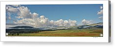Moreno Valley Clouds Acrylic Print