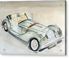 Morgan Sports Car Acrylic Print