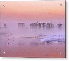 Morning At The Beach Acrylic Print by Steve K