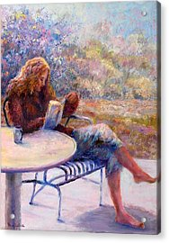 Morning Book Acrylic Print
