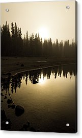 Acrylic Print featuring the photograph Morning Calm by Randy Wood